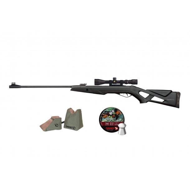 GAMO Pack Adult 4,5mm Luftgevær m/ kikkert