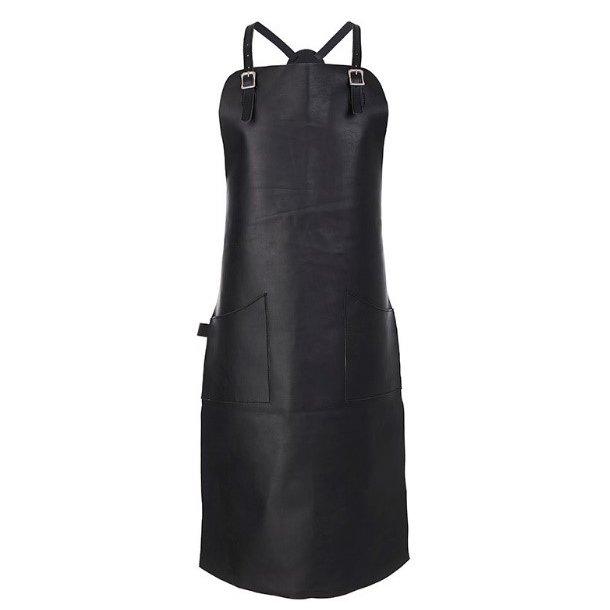 Le Cerf Læderforklæde XL med Rygkryds