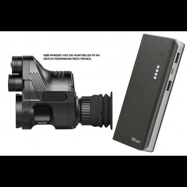 PARD NV007 Digitalt clip-on incl. 42mm Adapter & powerbank