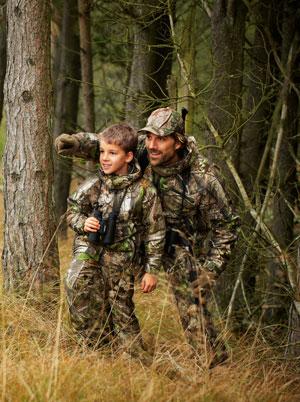 Jagttøj til børn | Lækkert jagttøj til børn hos SIE Hunting