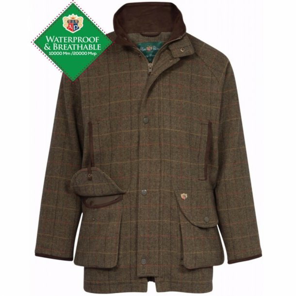 Alan Paine Combrook tweed skydejakke