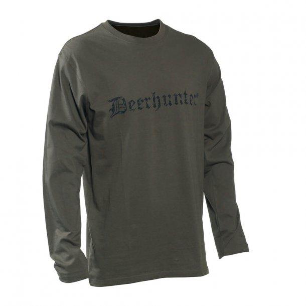 Deerhunter T-shirt med logo (l/æ)