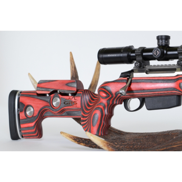 GRS Hunter justerbart skæfte, Black/Red