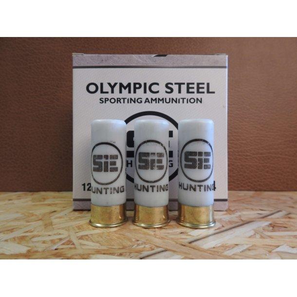 SIE-Hunting Flugtskydningspatron Olympic Steel 24 gram hagl str. 7 kaliber 12/70